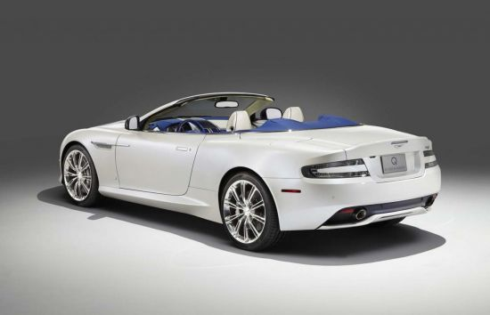 Aston Martin DB9 Volante Morning Frost