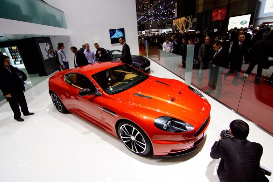 Aston Martin DBS Coupe Carbon Edition Geneva