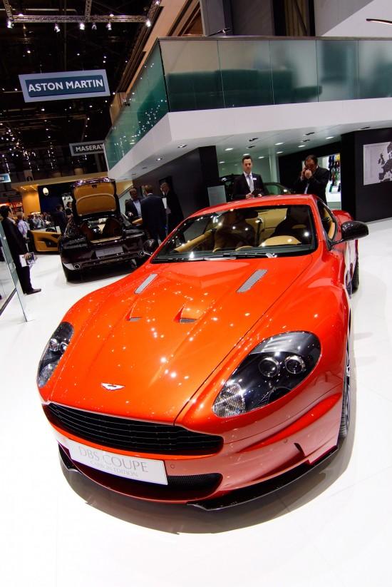 Aston Martin DBS Coupe Carbon Edition Geneva