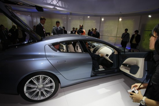 Aston Martin Rapide Frankfurt