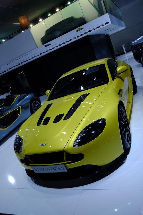 Aston Martin V12 Vantage S Frankfurt