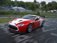 Aston Martin V12 Zagato at the Nurburgring, 1 of 12