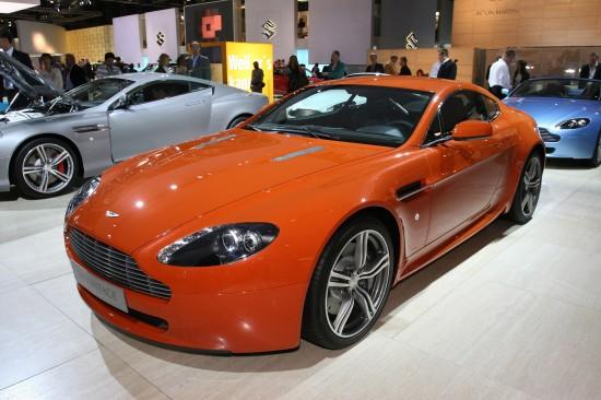 Aston Martin V8 Vantage N400 Frankfurt