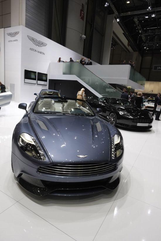 Aston Martin Vanquish Geneva