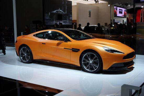 Aston Martin Vanquish Shanghai