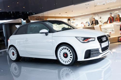 2012 Женевский Автосалон: Audi A1 2.0 T Quattro