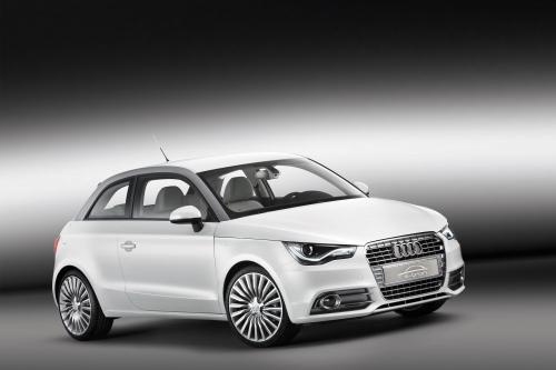 Audi A1 e-tron study электризует Женеве 2010