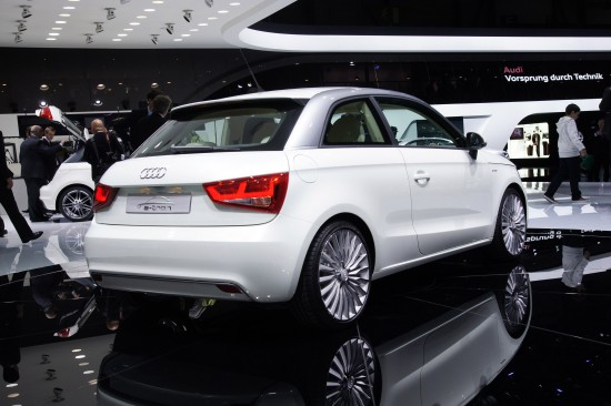 Audi A1 e-tron Geneva