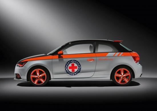 Audi A1 Wasserwacht