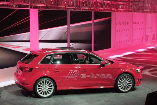 Audi A3 e-tron Geneva