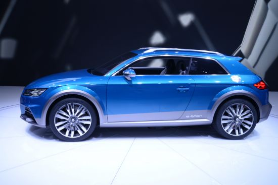 Audi Allroad Shooting Brake Detroit