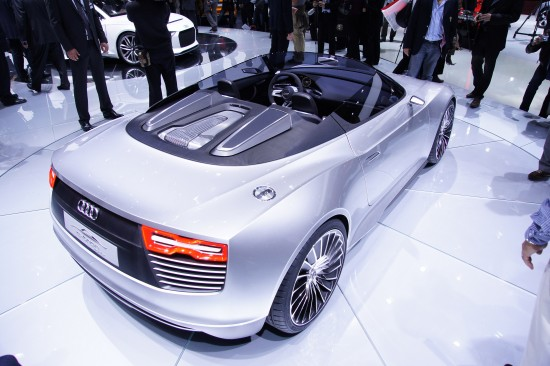 Audi e-tron Roadster Paris