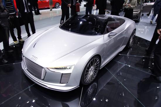 Audi e-tron Spyder Paris