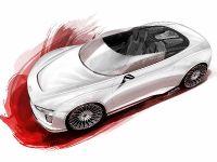 Audi e-tron Spyder sketches, 1 of 8