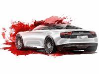 Audi e-tron Spyder sketches, 3 of 8