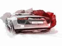 Audi e-tron Spyder sketches, 4 of 8
