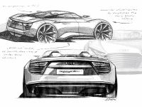 Audi e-tron Spyder sketches, 5 of 8