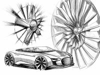 Audi e-tron Spyder sketches, 6 of 8