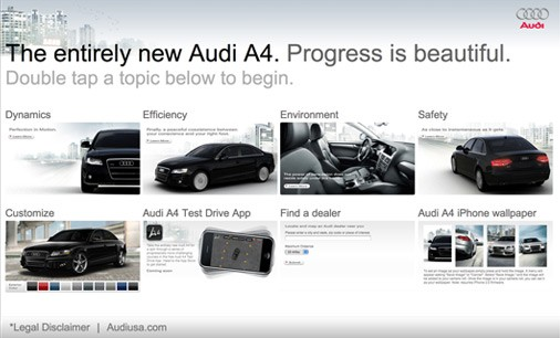 Audi iphone application