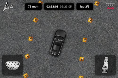 Audi объявляет о проведении первой автомобильной oem iphone приложения