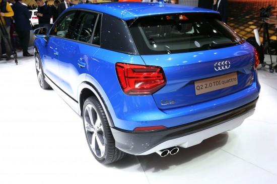 Audi Q2 Geneva