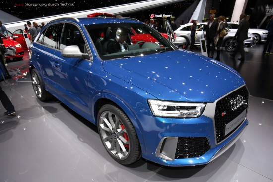 Audi Q3 performance Geneva