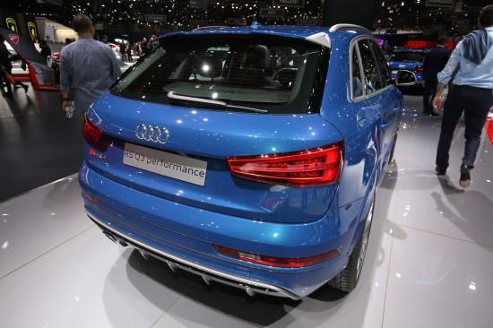 Audi Q3 performance Geneva