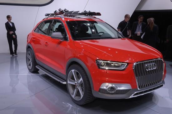 Audi Q3 Vail Concept Detroit