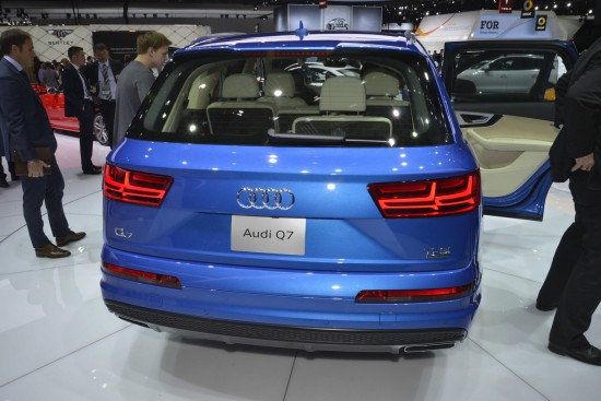 Audi Q7 Detroit