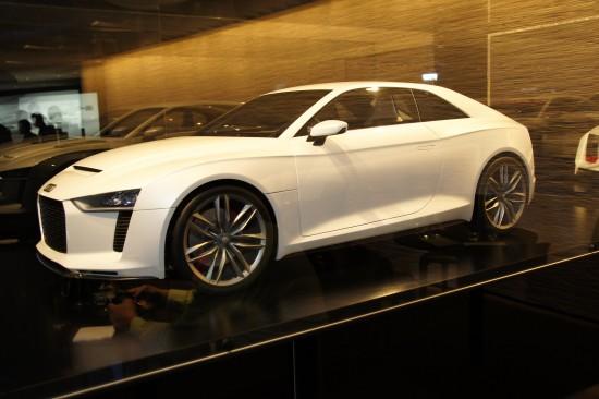 Audi Quattro Concept Paris