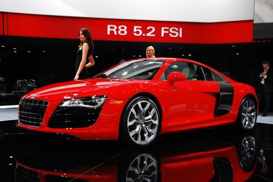 Audi R8 5.2 FSI Detroit
