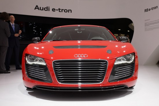 Audi R8 e-tron Frankfurt