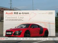 Audi R8 e-tron Nurburgring Record, 17 of 20