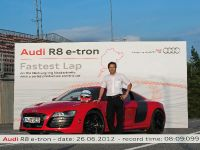 Audi R8 e-tron Nurburgring Record, 18 of 20