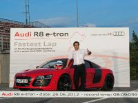 Audi R8 e-tron Nurburgring Record, 19 of 20