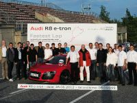 Audi R8 e-tron Nurburgring Record, 20 of 20