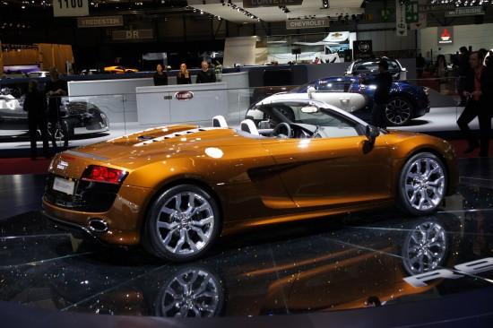 Audi R8 Roadster 5.2 quattro Geneva