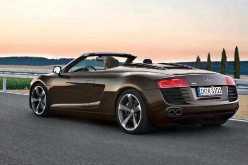 Audi R8 Spyder 4.2 FSI Quattro хитов Великобритании