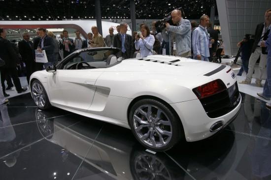 Audi R8 Spyder Frankfurt
