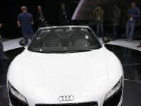 thumbnail image of Audi R8 Spyder Frankfurt 2011