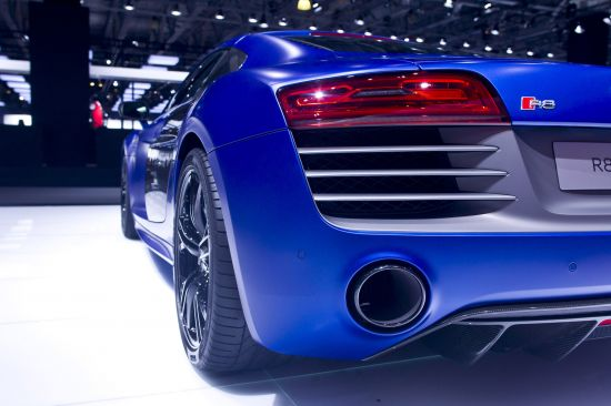 Audi R8 V10 plus Moscow