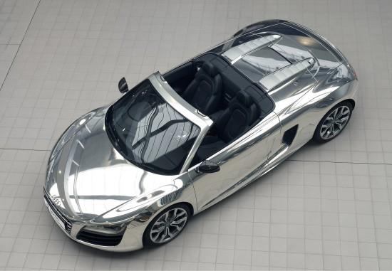 Audi R8 V10 Spyder Chrome