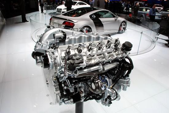 Audi R8 V12 Tdi Detroit 2008 Picture 47509