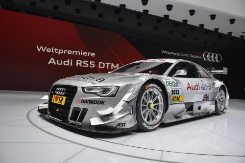 Железный Человек и Audi DTM Racing Team [видео]