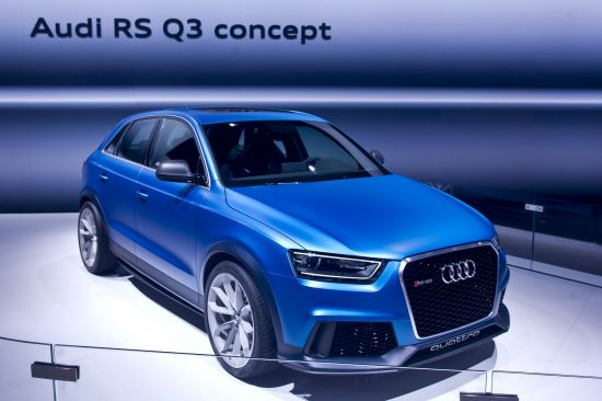 Audi RS Q3 Concept Moscow