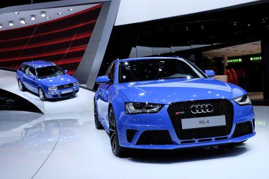 Audi RS4 Geneva