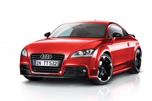 Audi TT Coupe и Roadster Black Edition с Amplified черный пакет