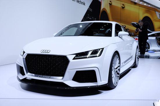 Audi TT Quattro Sport Concept Geneva