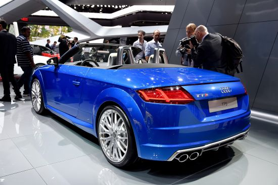 Audi TTS Paris