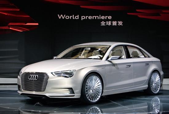 Auto Shanghai  Audi A3 e-Tron